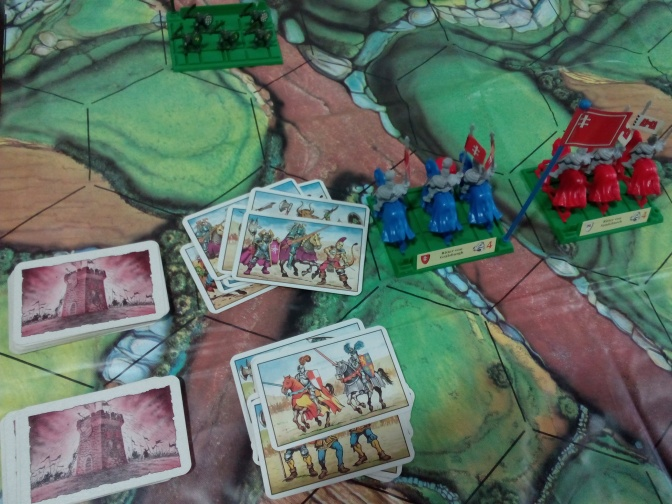 Battle masters: variante dos barajas